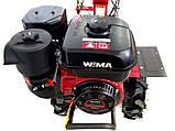 Мотоблок WEIMA WM1000N-6 DeLuxe (КМ ручки, 4+2 скор/, бензин, 7,0 л.с., колеса 4,00-8), фото 8