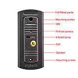 Домофон Intercom WJ724RC9 Цветной Видеозвонок с картой памяти, фото 3