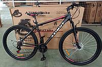 """Велосипед горный азимут  Energy 26"""" GFRD 21"""" рама, черно-красный, фото 1"""