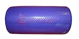 Валик для йоги. Длина 30 см, диаметр 14,5 см. фиолетовый.