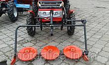 "Косилка роторная КР-06 ""ШИП"" для мототрактора (под гидроцилиндр без ремня)"