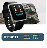 Наручные умные часы Smart W5, спортивные часы, фитнес-трекер, фото 5