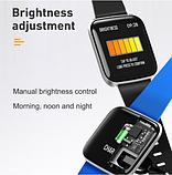 Наручные умные часы Smart W5, спортивные часы, фитнес-трекер, фото 10