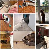 Многофункциональная игрушка для собак канат на присоске с мячом, фото 10