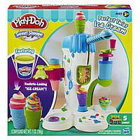 Набор пластилина Play-Doh Perfect Twist Ice Cream - Страна  Мороженого.