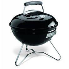 Вугільний Гриль переносний Weber Smokey Joe Premium (430х460х410мм), чорний