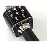 Беспроводной Bluetooth микрофон для караоке Wster WS-1688, фото 6