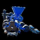 Сеялка мотоблочная точного высева  СТВ-2 Премиум (2-х рядная), фото 2