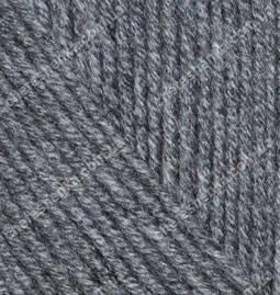Нитки Alize Cashmira 182 средне-серый меланж, фото 2