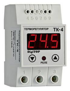 Терморегулятор ТК-4 (одноканальный) дижитоп