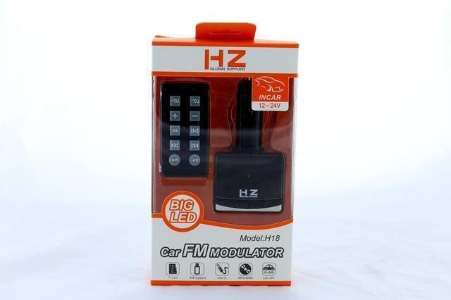 Автомобильный mp3 модулятор FM H-18ВТ/ Автомобильный трансмиттер