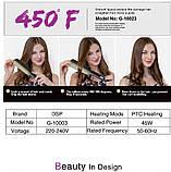 Утюжок выпрямитель для волос DSP 10023, фото 8