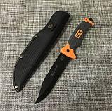Нож с чехлом Gerber Н-100 для охоты и рыбалки, фото 5