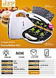 Аппарат для приготовления вафель и пончиков 4в1 DSP KC1131, фото 2