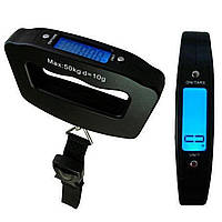 Весы дорожные для взвешивания багажа NBZ LED до 50 кг