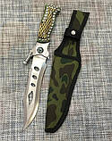 Охотничий нож c Чехлом 29см Colunbir Н-201 (с фонариком), фото 2