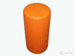 Валик для йоги. Длина 59,5 см, диаметр 14,5 см. оранжевый.