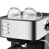 Кофемашина полуавтомат DSP Espresso Coffee Maker KA3028 с капучинатором, фото 3