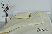"""Постільна білизна,тканина страйп сатин 100% бавовна,колір: """"ваніль"""""""