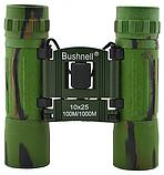 Бинокль Bushnell 10X25 ARMY 4789  для охоты, туризма, фото 5
