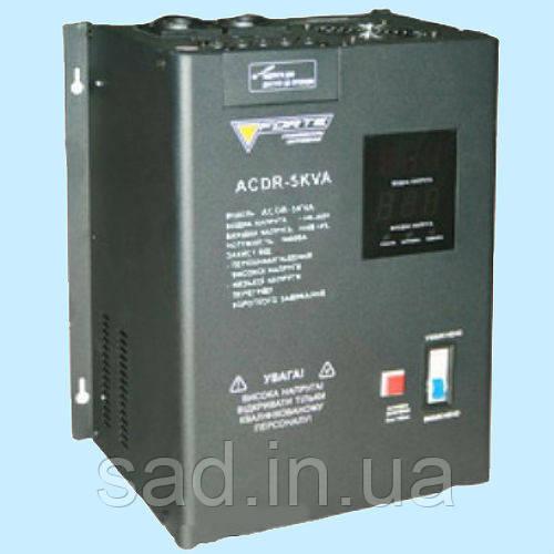 Стабилизатор напряжения релейный FORTE ACDR-5kVA (5 кВт) - Sadovod.in.ua в Никополе