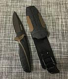 Нож с чехлом Gerber АК-204 для охоты и рыбалки, фото 4