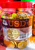 Шоколадные монеты 200 штук (банка)