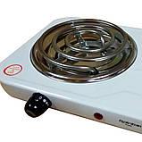 Электроплита 2 комфорки спираль Rainberg Rb-888 (2400W), фото 3