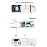 Проектор Everycom LED T5 WiFi 2600 люмен, домашний WiFi видеопроектор, фото 6