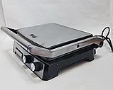 Гриль электрический DSP KB1036 профессиональный с функцией контроля температуры [2000 ВТ], фото 4