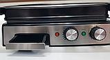 Гриль электрический DSP KB1036 профессиональный с функцией контроля температуры [2000 ВТ], фото 8