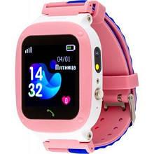 Дитячі Смарт-годинник AmiGo GO004 Splashproof Camera+LED Pink