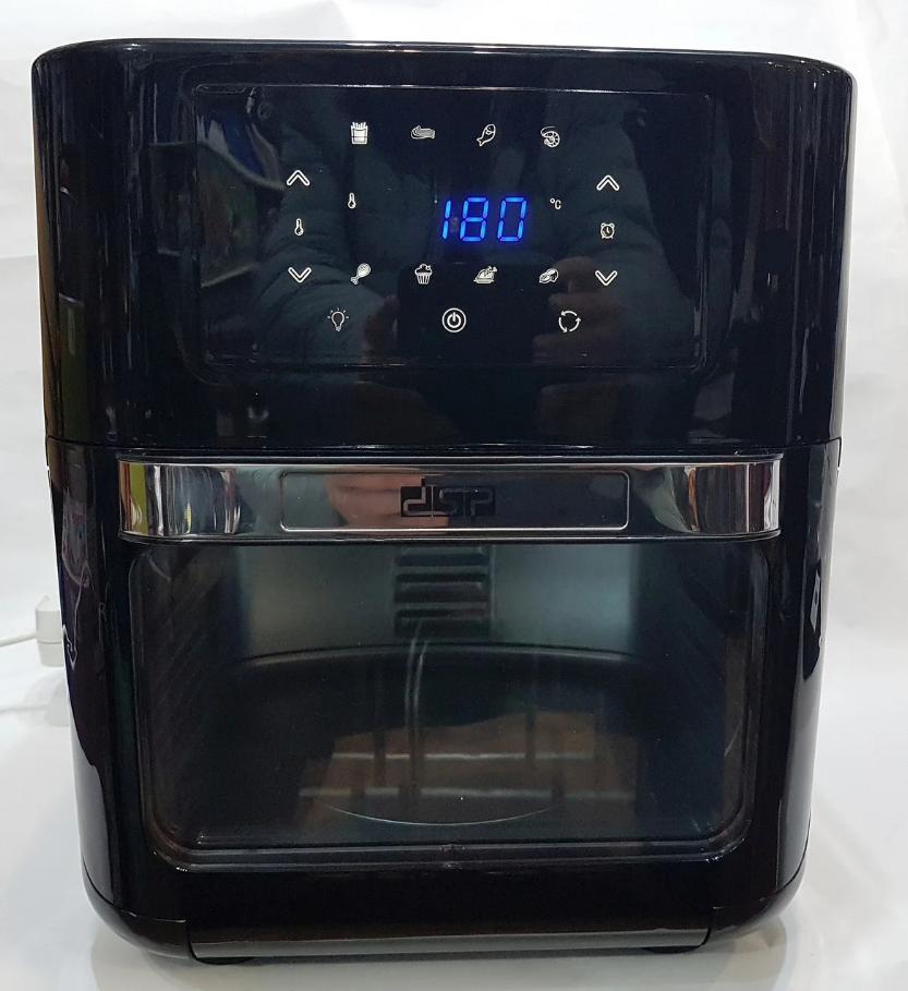 Духовка мини многофункциональная , фритюрница электрическая Air Fryer DSP KB-2030, 12L 1700W