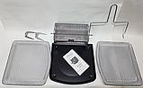 Духовка мини многофункциональная , фритюрница электрическая Air Fryer DSP KB-2030, 12L 1700W, фото 4