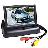Складной автомобильный монитор 4,3'', фото 5