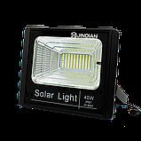 Прожектор Jindian JD-8840 40W SMD, IP67, солнечная батарея, пульт ДУ, встроенный аккумулятор, фото 2