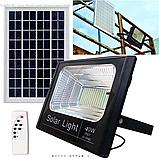 Прожектор Jindian JD-8840 40W SMD, IP67, солнечная батарея, пульт ДУ, встроенный аккумулятор, фото 8