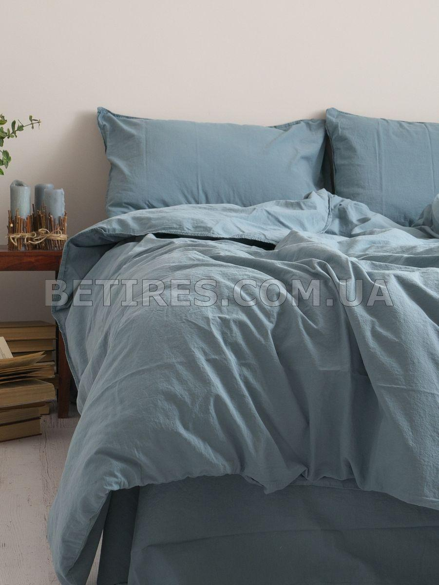 Комплект постельного белья 160x220 LIMASSO AKDENIZ MAVISI STANDART голубой