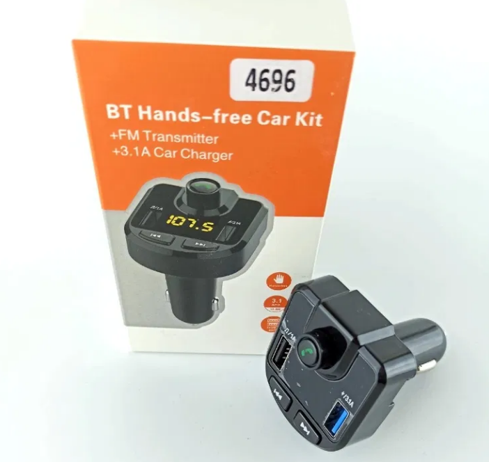 Автомобильный  FM трансмиттер модулятор M9B с Bluetooth mp3