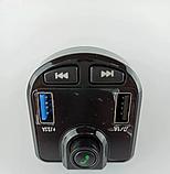 Автомобильный  FM трансмиттер модулятор M9B с Bluetooth mp3, фото 4