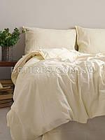 Комплект постельного белья 200x220 LIMASSO AKDENIZ KREMI STANDART кремовый