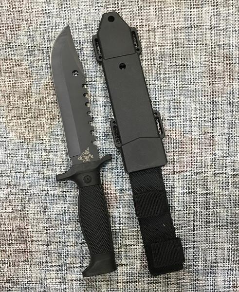 Большой тактический нож GERBFR 30,5см / 2438А для охоты и рыбалки