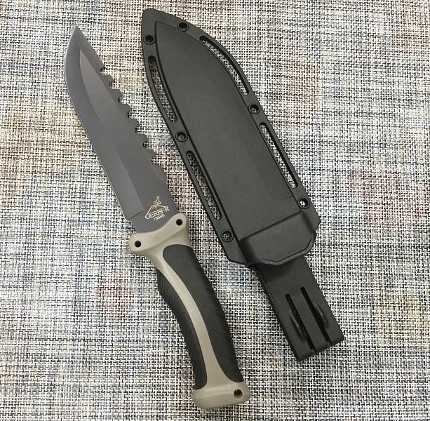 Большой тактический нож с чехлом GERBFR 1868В 30,5см для охоты и рыбалки