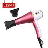 Фен для укладки волос Enzo  EN-6050H с дифузором, фен 7в1,  6000 W, Набор для укладки волос, фото 2