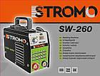 Зварювальний апарат інверторний STROMO SW250, фото 2