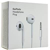 Гарнитура ORIGINAL EarPods  APPLE HEADPHONE PLUG 3.5MM MNHF2AM/A MODEL A1472