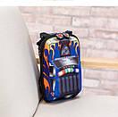 Детский рюкзак для мальчика от 3 лет для садика жесткий 3D Тачки автомобиль, фото 7