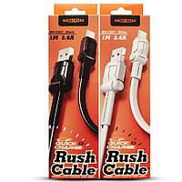 USB cable MOXOM Lightning (MX-CB27) черный