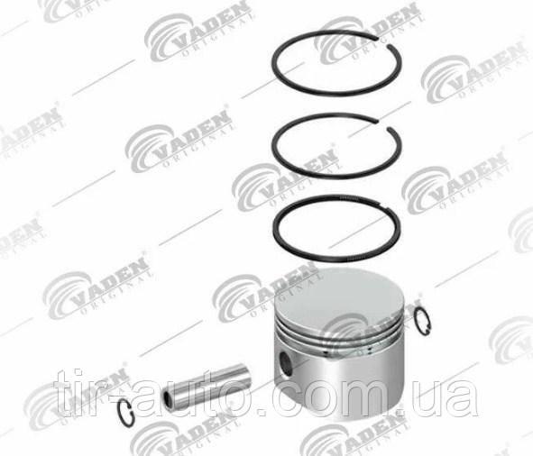 Поршень компрессора с кольцами WABCO, DAF, MAN, IVECO ( Ø 75.00 mm ) ( VADEN ) 7000753100-VDN