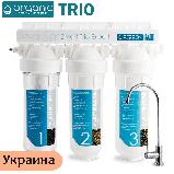 Проточный тройной фильтр под мойку Organic Smart Trio EXPERT, фото 3